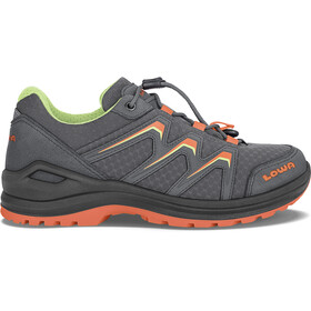 Lowa Maddox GTX Mid Shoes Kids graphite/mandarin